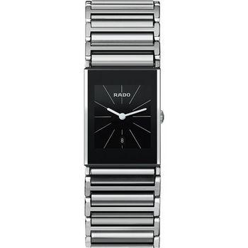 RADO 雷達Integral精密系列陶瓷女錶-黑x銀/23mm R20785159