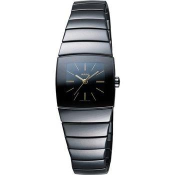 RADO 雷達 Sintra系列陶瓷女錶-黑/22mm R13726192