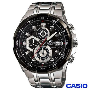 CASIO卡西歐 EDIFICE極速賽車魅力流線型三眼腕錶 EFR-539D-1A