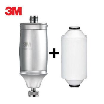 《3M》全效沐浴過濾器SFKC01-CN1一入+替換濾心一入(共二入濾心)