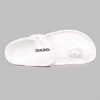 【DIADORA】男拖鞋-休閒 戲水 涼鞋 人字托 白黑