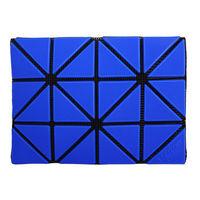 ISSEY MIYAKE BAOBAO幾何方格3x4名片 ^#47 卡夾 ^#40 寶藍