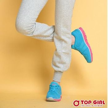 【TOP GIRL】運動甜心輕量慢跑鞋-共三色