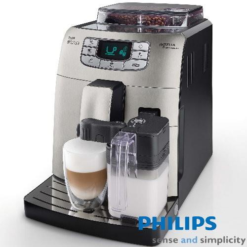 PHILIPS飛利浦 Saeco自動義式咖啡機HD8753(加贈咖啡豆)