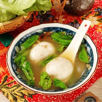 【寶島福利站】左營菜市仔嬤香菇肉鹹湯圓3包(180g+-10%/包/約10顆)