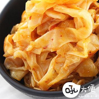 【吼方便】涼拌小菜 辣味高麗菜 3包(200g/包)