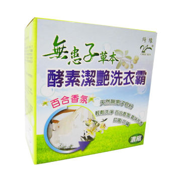 綺緣無患子百合酵素洗衣粉(22件組)