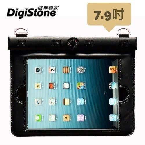 DigiStone iPad mini 7.9吋 平板電腦防水袋/保護套/可觸控(溫度計型) 適7.9吋以下平板-黑色