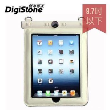 DigiStone iPad 9.7吋 平板電腦防水袋/保護套/可觸控(溫度計型) 適9.7吋以下平板-白色