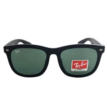 【Ray Ban 雷朋】NEW!!RB4260D-601/71-韓系方框(黑框-綠鏡面)