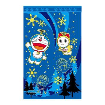 哆啦A夢Doraemon冰原長門簾-藍150x85cm(FL831)