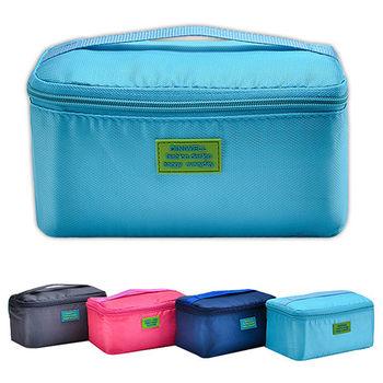 【任選】DINIWELL防水輕量化萬用收納配件包 化妝收納包(4色)