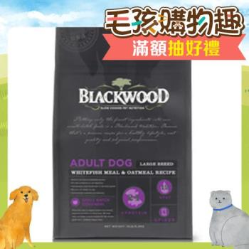 【Blackwood】柏萊富 特調大型成犬(白身魚+燕麥) 30磅 X 1包