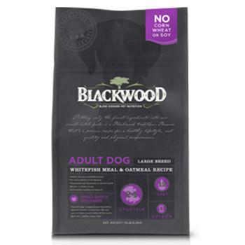 【Blackwood】柏萊富 特調大型成犬(白身魚+燕麥) 15磅 X 1包
