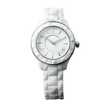 【MAX MAX】氣質美人時尚陶瓷腕錶-白/37mm (MAS6008-2)