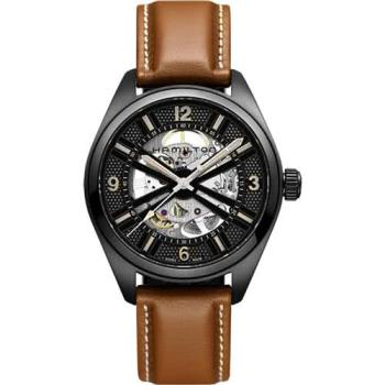 Hamilton KHAKI FIELD卡其野戰全鏤空機械腕錶 H72585535
