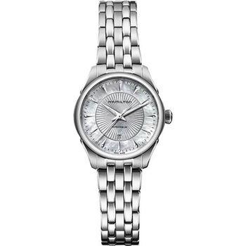 Hamilton JAZZMASTER真鑽機械腕錶-30mm H42215111