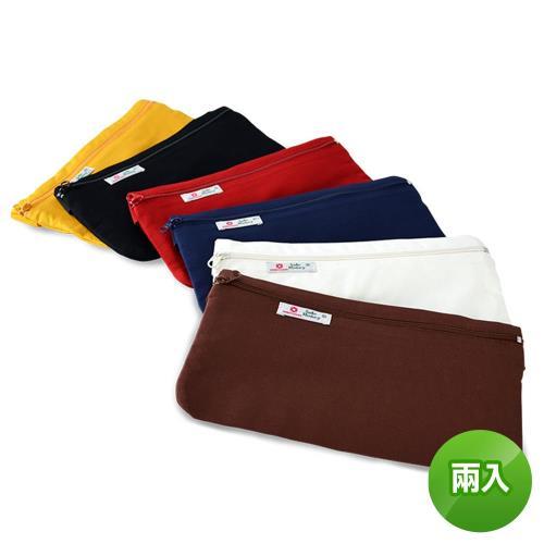 【旅遊首選、旅行用品】防竊腰包-隨身包/貼身包/安全袋/隱密袋-台灣製造(兩入組)