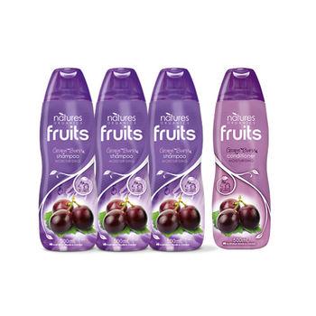 【澳洲Natures Organics】天然植粹滋潤保濕洗潤組(紫)500mlx4