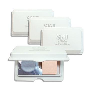 SK-II 超肌因鑽光透亮粉凝霜1gx4(#420)
