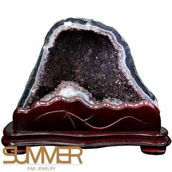 【SUMMER寶石】巴西3A級天然紫晶洞《14.1kg》(714-15)