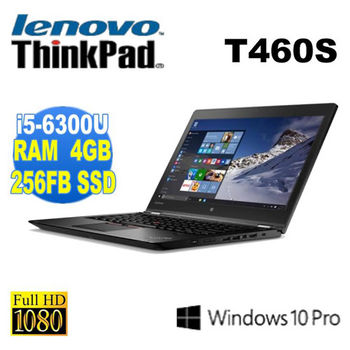 Lenovo 聯想 ThinkPad T460s 14.1吋FHD i5-6300U 256G SSD 三年保固 高效能軍用規格商務型筆電
