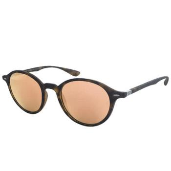 【Ray Ban 雷朋】4237F-894/Z2_復古圓框雷朋太陽眼鏡(水銀粉玻璃鏡片)