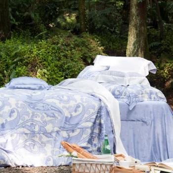 BBL嬉迷年代100%萊賽爾纖維(天絲®)印花特大四件式床包組