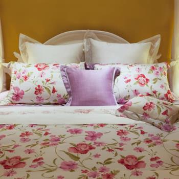 BBL慕槿100%萊賽爾纖維(天絲®)印花加大四件式床包組