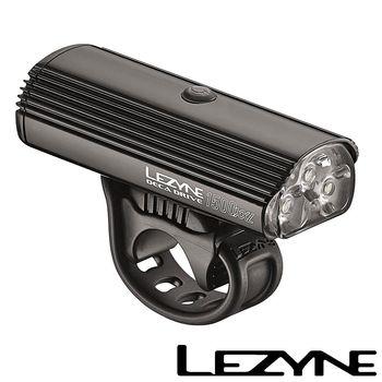 LEZYNE DECA DRIVE 1500XXL USB充電光學透鏡LED前燈(黑)