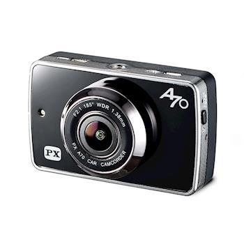 【PX大通】超廣角185°星光夜視超人1080P行車記錄器(贈送16G記憶卡) A70