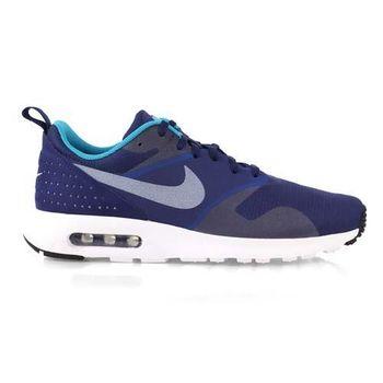 【NIKE】AIR MAX TAVAS 男運動休閒鞋 - 氣墊 慢跑鞋 寶藍白