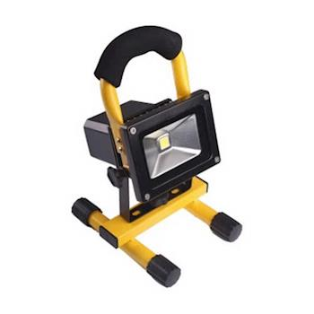 【順合】10W LED戶外防水探照燈/工作燈(白光)