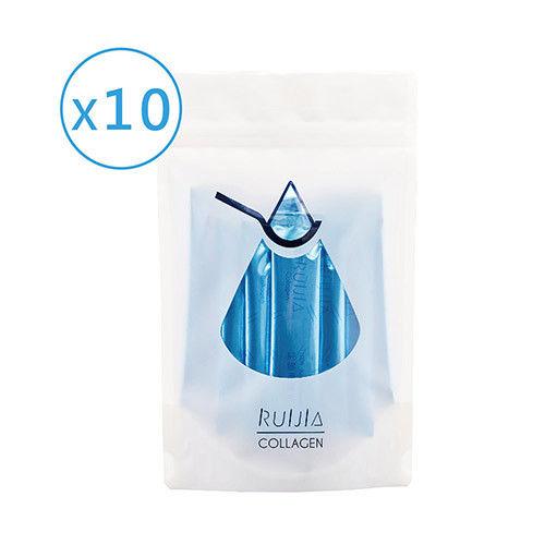【Ruijia露奇亞】2016全新升級版純魚類膠原蛋白 10入組(共300包入)