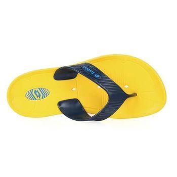 【LOTTO】MIT 男夾腳拖鞋 -台灣製 人字拖 拖鞋 海灘 戲水 游泳 黃丈青