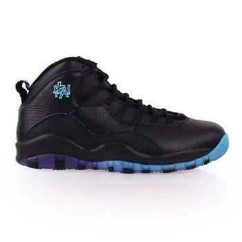 【NIKE】AIR JORDAN 10 -限量男復刻籃球鞋 - 喬丹 氣墊 黑藍