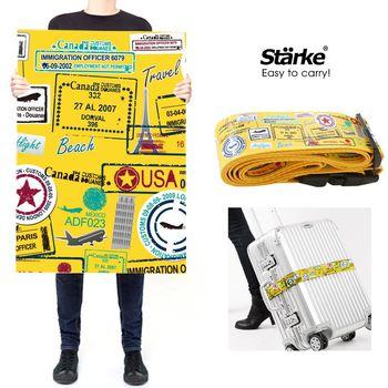 Benga 密碼鎖行李箱束帶/綁帶 -旅遊足跡