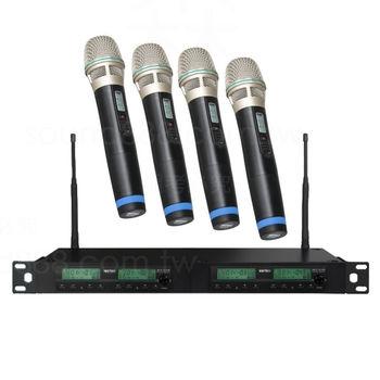 MIPRO ACT-312BT 1U四頻道自動選訊 無線麥克風組