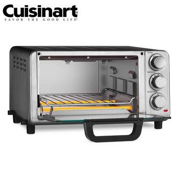 【Cuisinart美膳雅】多功能不鏽鋼烤箱 (TOB-80TW)