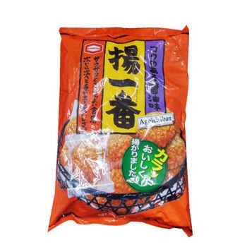 日本熱銷!龜田米果餅乾 155g/包*6包