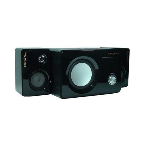 皇冠重低音多媒體2.1聲道USB喇叭組K-15