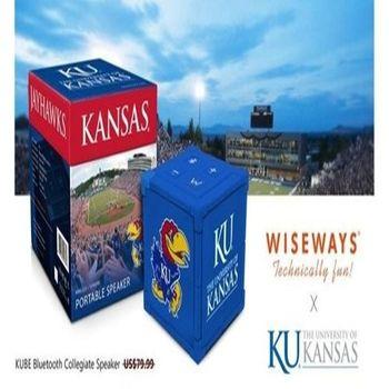 【NCAA X KUBE藍芽喇叭】 限量美國大學聯賽款式 獨家授權 堪薩斯大學