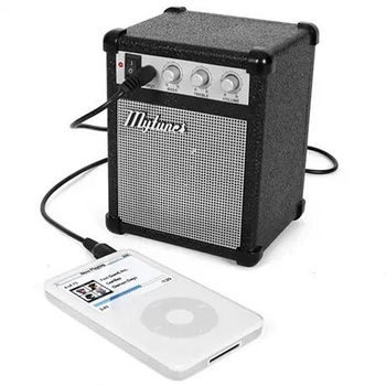 音箱造型 USB/電池兩用 攜帶喇叭 (marshall,korg) 可接手機 電腦
