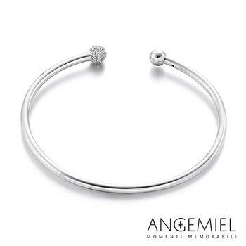Angemiel安婕米 925純銀硬式手環