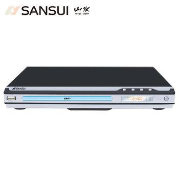 【年終盛典】SANSUI山水USB/MPEG4/DVD影音光碟播放機(DVD-258)