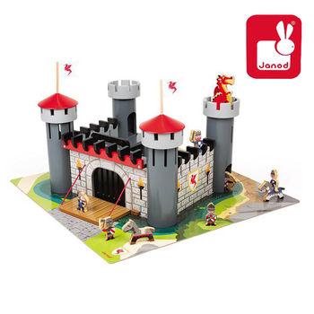 法國Janod創意兒童智玩-故事幻想系列-城堡大作戰