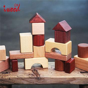 《iwood》大地積木 | Natural Blocks
