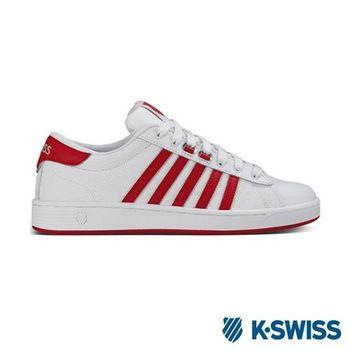 K-Swiss Hoke EQ CMF美式休閒鞋-女-白/紅