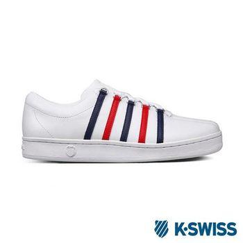 K-Swiss Classic 88經典休閒鞋-男-白/藍/紅