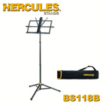 【Hercules 美國品牌】海克力斯 三段式譜架 (BS118BB)
